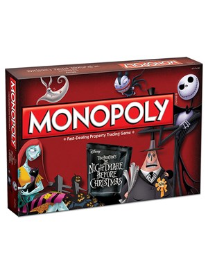 Nightmare Before Christmas Monopoly Board Game