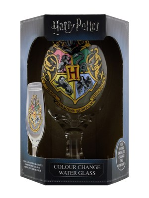 Harry Potter Hogwarts Colour Change Water Glass