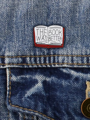 Punky Pins The Book Was Better Enamel Pin Badge