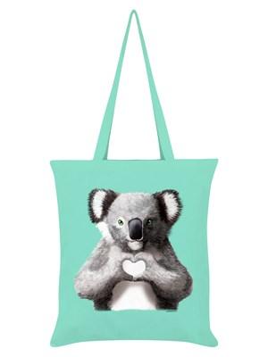 Unorthodox Collective Koala Mint Green Tote Bag