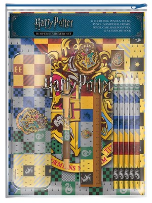 Harry Potter House Crests Bumper Stationery Set