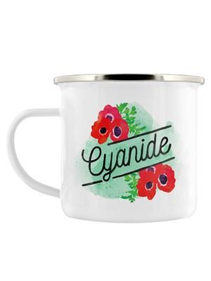 Deadly Detox Cyanide Enamel Mug