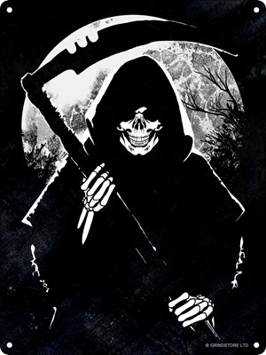 Reaper Moon Mini Tin Sign