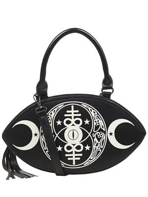 Banned All Seeing Eye Handbag With Tassel Zip