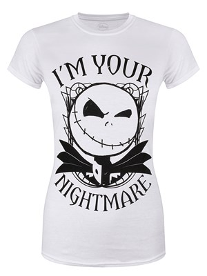 Nightmare Before Christmas I'm Your Nightmare Ladies T-Shirt