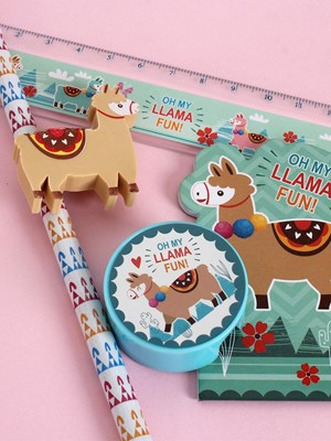 Oh My Llama Fun Stationery Set