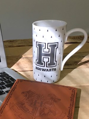 Harry Potter H For Hogwarts Latte Mug