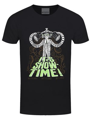 Beetlejuice Showtime Men's Black T-Shirt