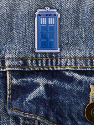 Dr Who Tardis Enamel Pin Badge