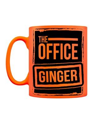 The Office Ginger Orange Neon Mug