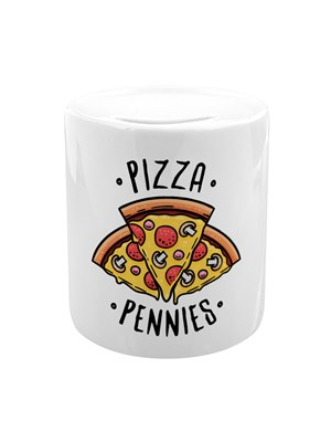 Pizza Pennies Money Box
