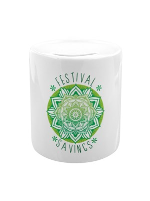 Mandala Festival Savings Money Box