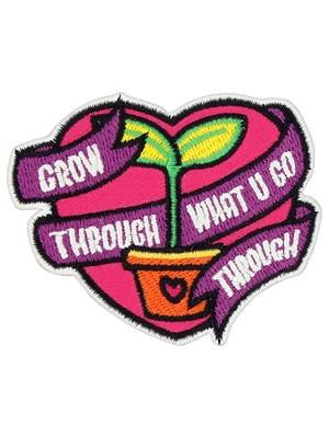 Grow Through What U Go Through Patch