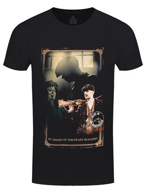 Peaky Blinders Shotgun Men's Black T-Shirt