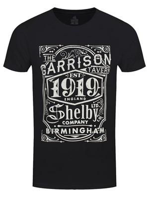 Peaky Blinders Garrison Pub Men's Black T-Shirt