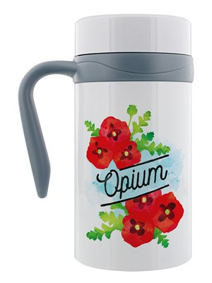 Deadly Detox Opium Thermal Travel Mug With Handle