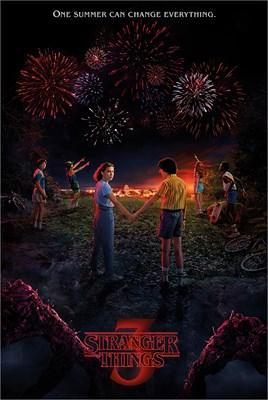 Stranger Things 3 One Summer Poster