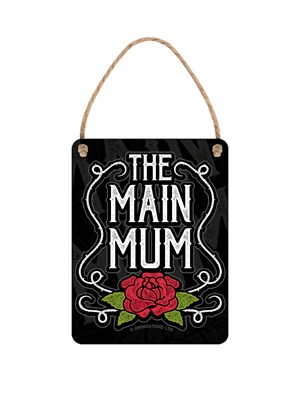 Mother's Day The Main Mum Tiny Tin Sign