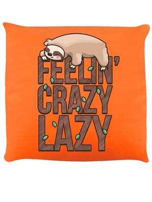 Feelin' Crazy Lazy Orange Cushion