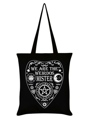 We Are The Weirdos Mister Ouija Black Tote Bag