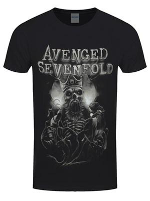 Avenged Sevenfold King DB Men's Black T-Shirt