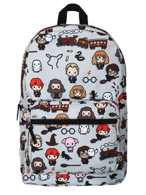 Harry Potter Backpack With Chibi Characters