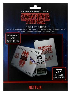 Stranger Things Tech Sticker