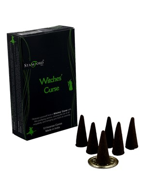 Stamford Black Incense Cones - Witches' Curse
