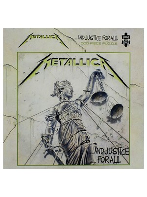 Metallica And Justice for All 500 Piece Jigsaw Puzzle