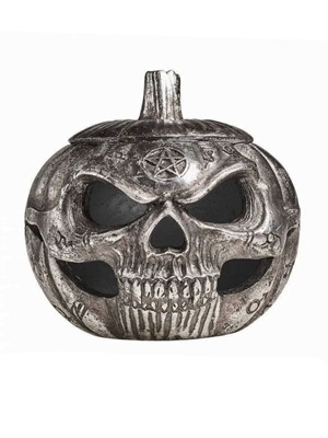 Alchemy Pumpkin Skull Pot