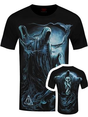 Spiral Harry Potter Dementor Men's Black T-Shirt