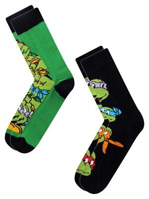 Teenage Mutant Ninja Turtles 2 Pack Men's Socks