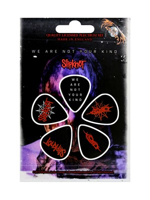 Slipknot We Are Not Your Kind Plectrum 5 Pack