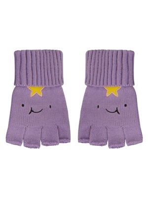 Adventure Time Lumpy Space Princess Fingerless Gloves