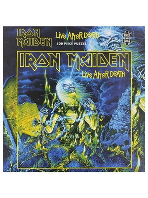 Iron Maiden Live After Death 500 Piece Jigsaw Puzzle