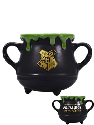 Harry Potter Polyjuice Potion Mini Cauldron Double Handled Mug