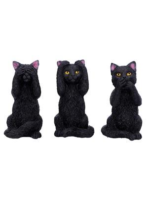 Three Wise Felines