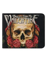 Bullet For My Valentine Crest Bi Fold Wallet Buy Online At