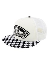 973d773bdff Vans Beach Girl Trucker Cap - Black   White Checkerboard