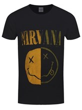 cfced86f Nirvana: Official Band Merch - Buy Online at Grindstore - UK ...