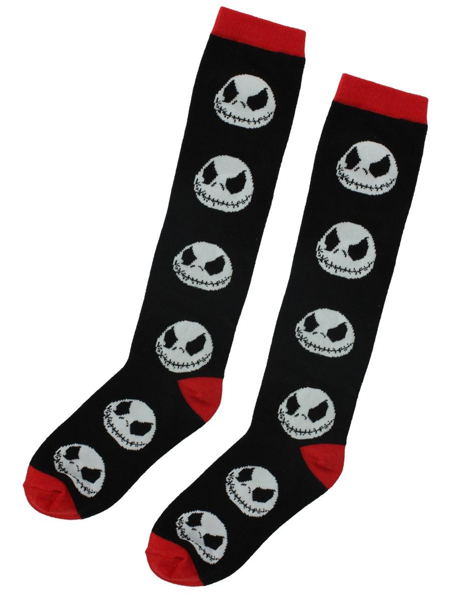 Nightmare Before Christmas Long Socks - Buy Online at Grindstore.com