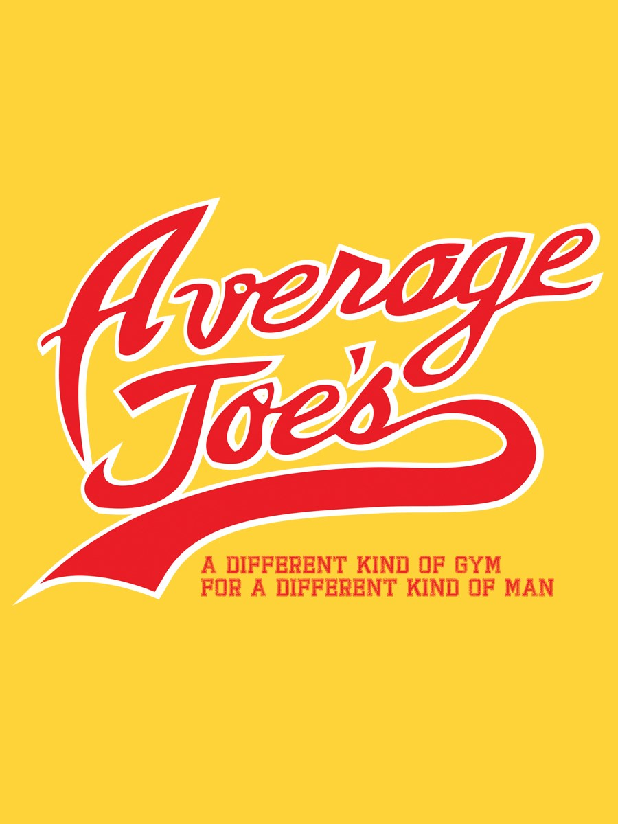 Average Joe's Men's Yellow T-Shirt Inspired by Dodgeball