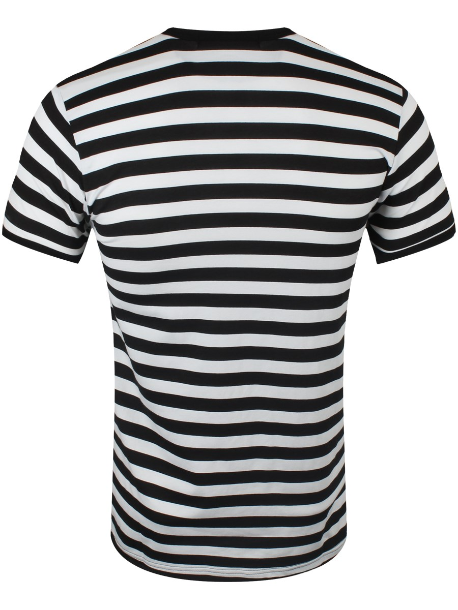 795976dc7 Black and White Striped T-Shirt - Buy Online at Grindstore.com
