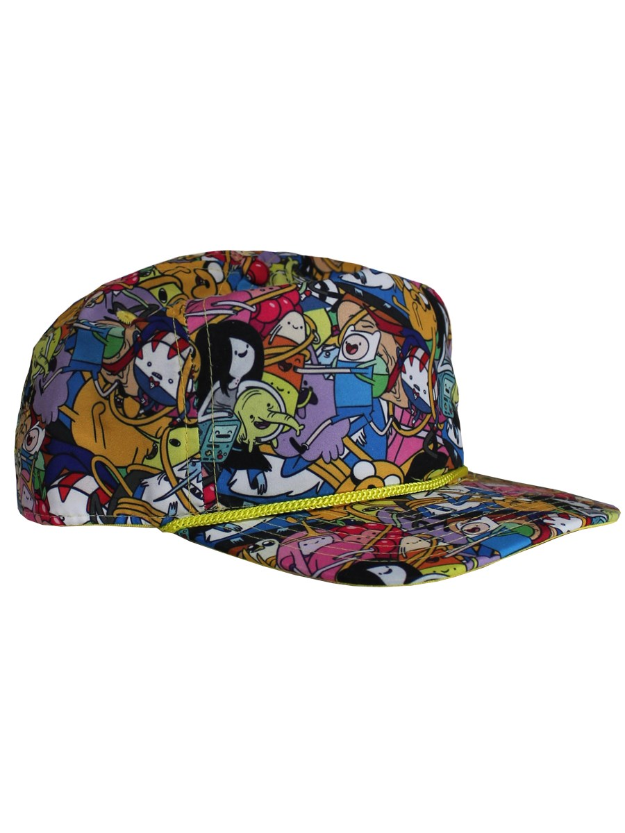 81f9359898768 Adventure Time All Over Print Adjustable Cap - Buy Online at ...