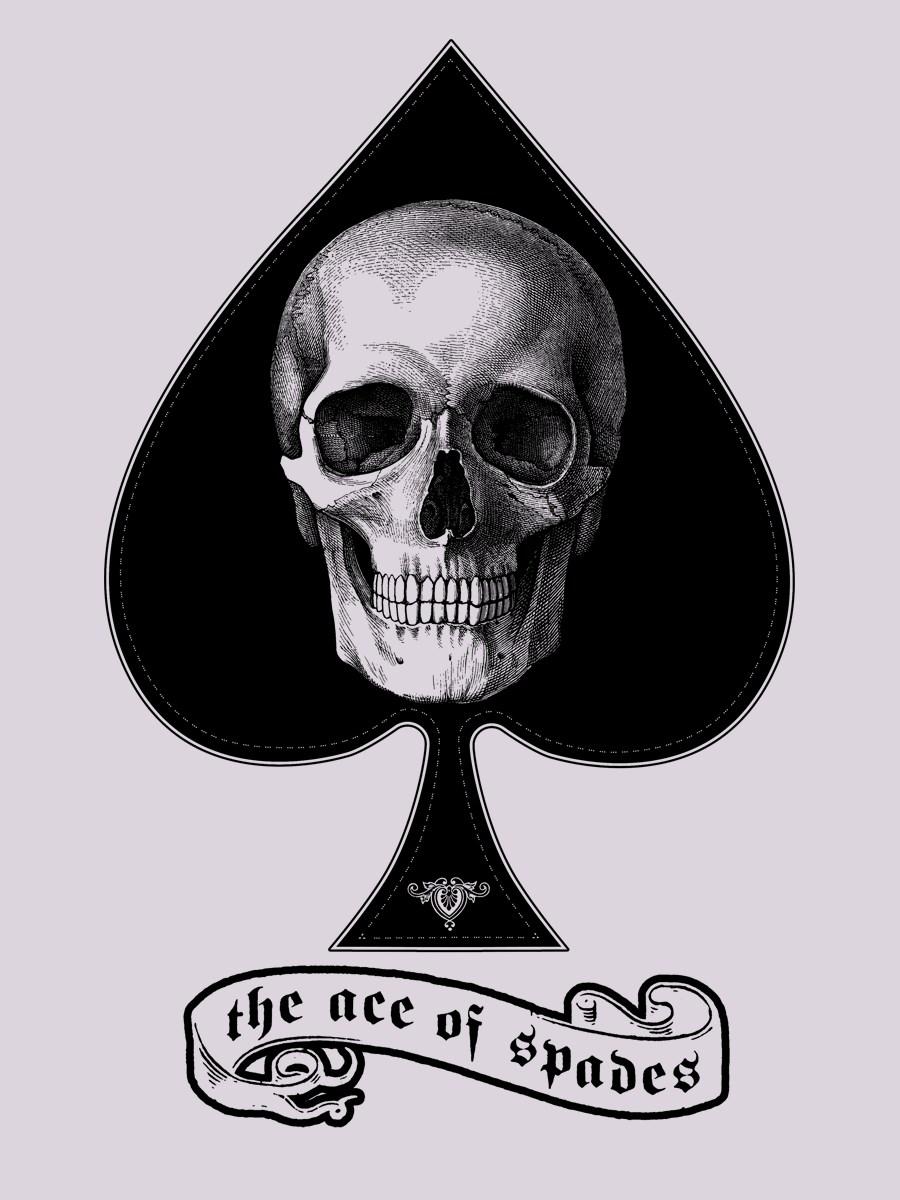 The Ace Of Spades Men S Grey Hoodie Buy Online At