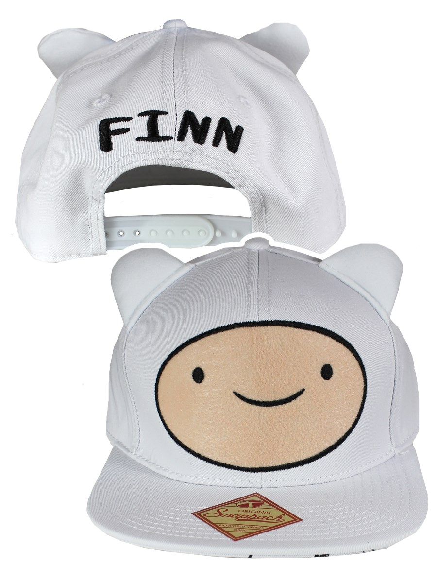 96845dbf1bb Adventure Time Finn Big Face Adjustable Cap - Buy Online at ...