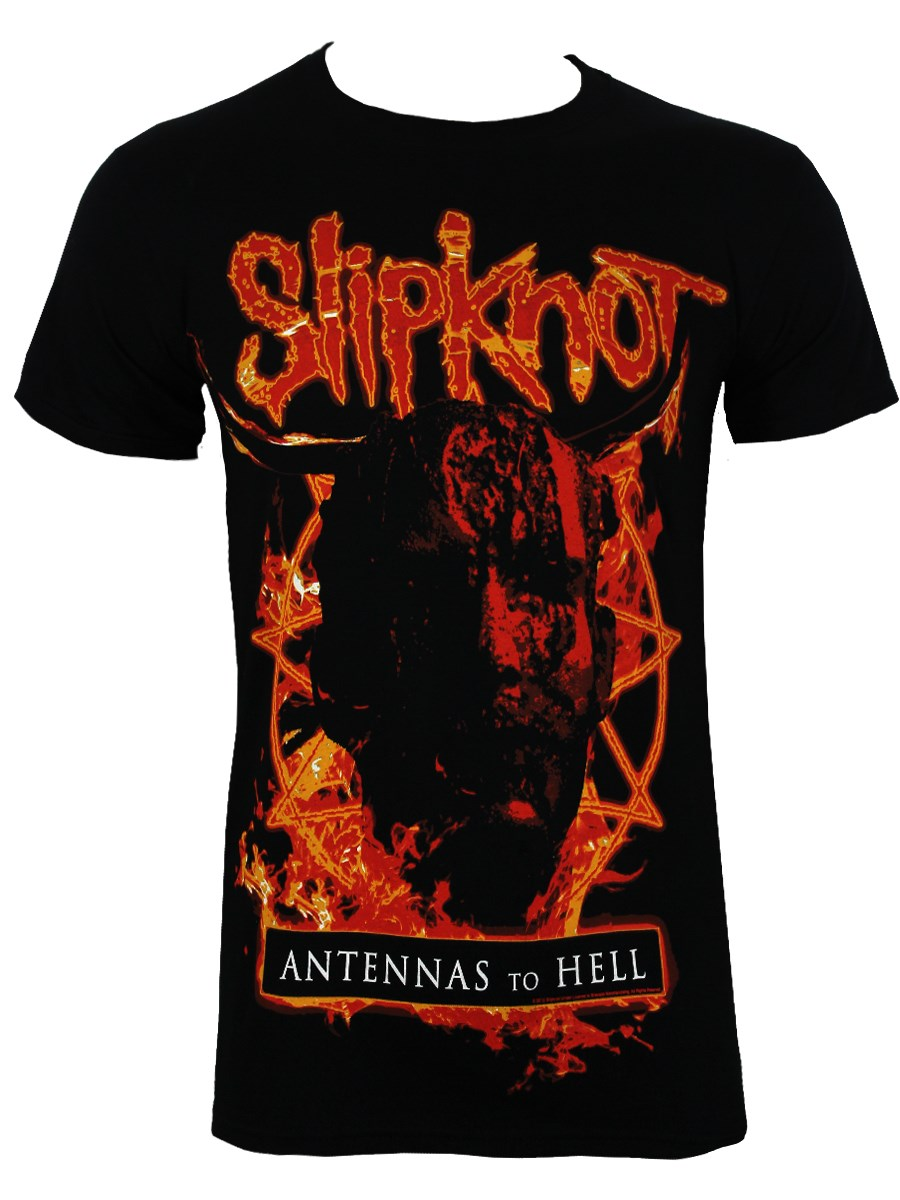 Slipknot Antennas To Hell Men's Black T-Shirt - Buy Online ...