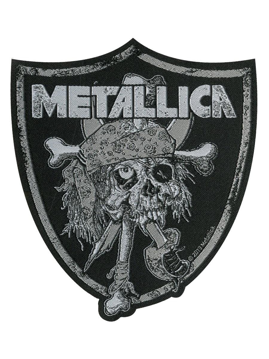 Metallica Raiders Skull Patch