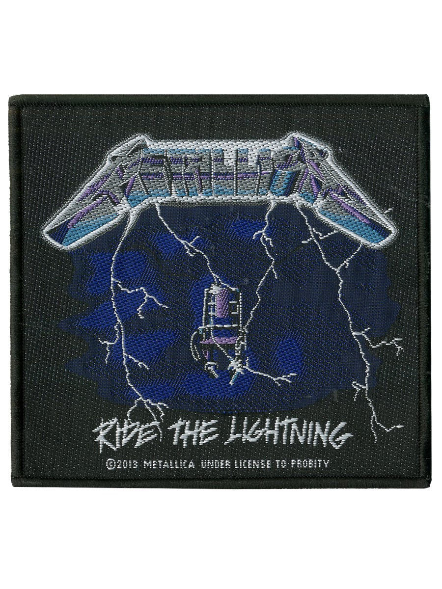 Metallica Ride The Lightning Patch Buy Online At