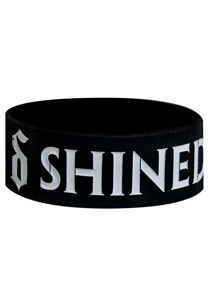 Shinedown Logo Wristband Buy Online At Grindstore Com